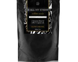 For All My Eternity Organic Coffee Body Scrub Salted Caramel 200g