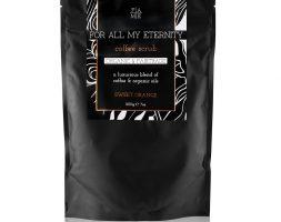 For All My Eternity Organic Coffee Body Scrub Sweet Orange 200g