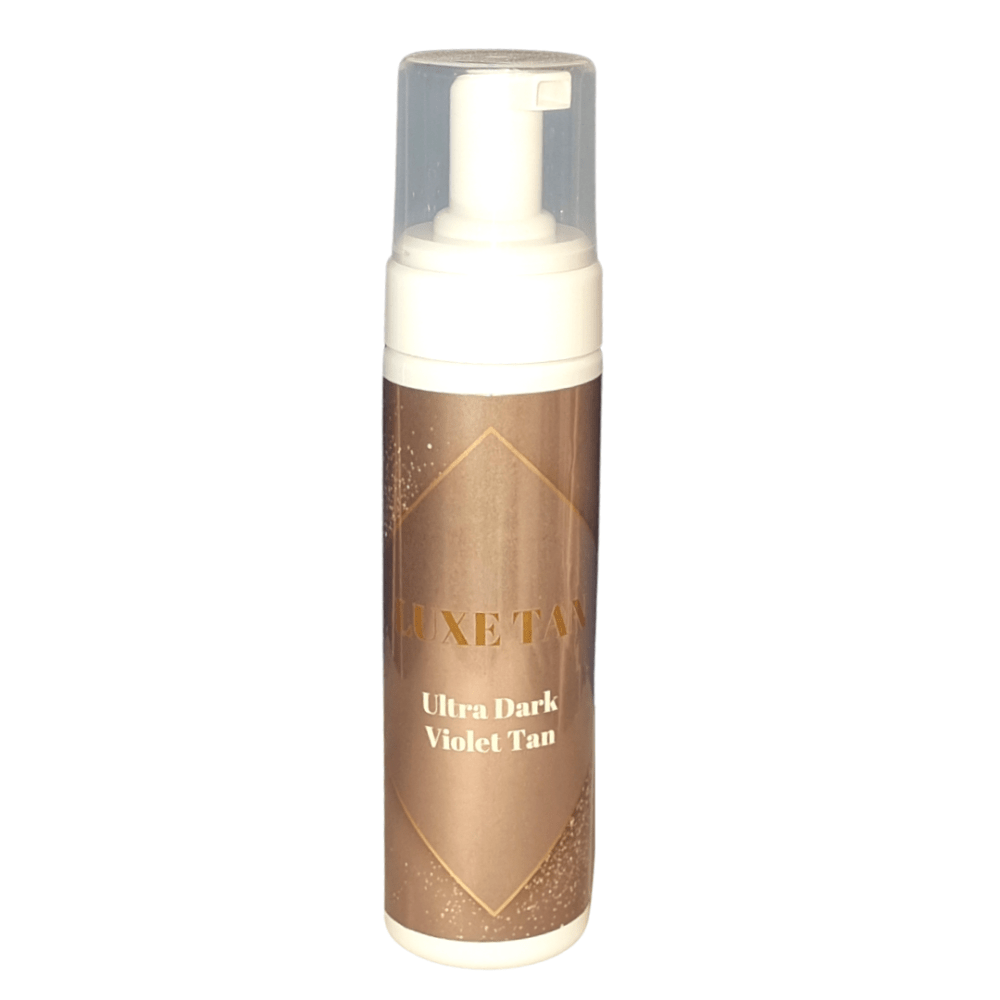 LUXE TAN Ultra Dark Violet-based Tan Mousse